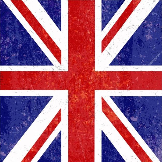 Grunge Union Jack Background Vector   Free Download