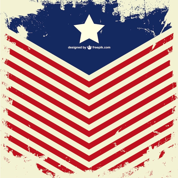 grunge usa flag vector   free download