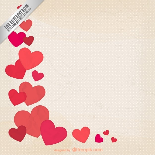 grunge valentine background vector free download