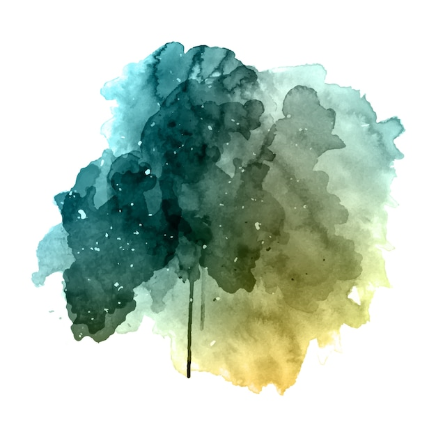 Grunge Watercolor Background Vector Free Download