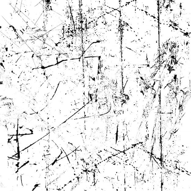 Grunge стиль фон с поцарапанной текстурой Бесплатные векторы