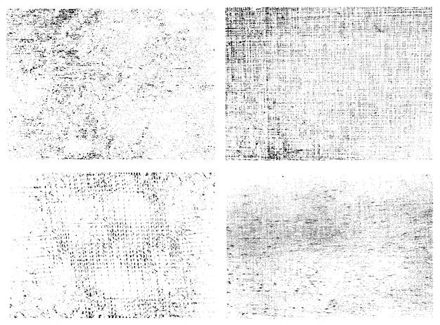 Grunge фон коллекция Бесплатные векторы