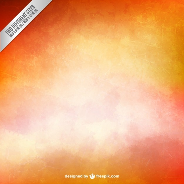 Grungy background in warm tones Free Vector