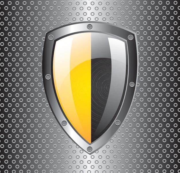 Guard icon Premium Vector