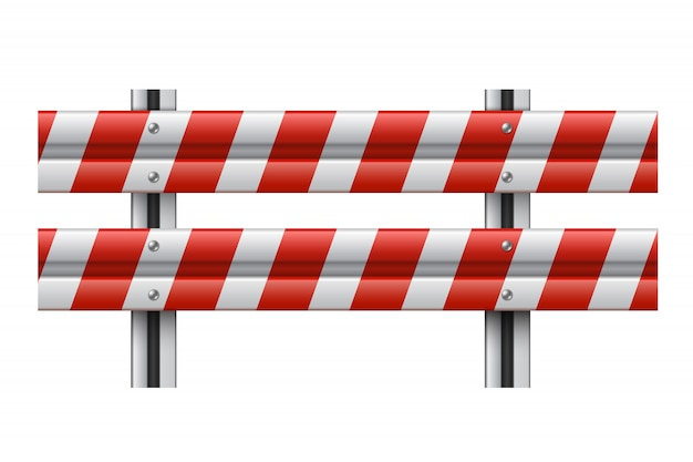 Guardrail Premium Vector