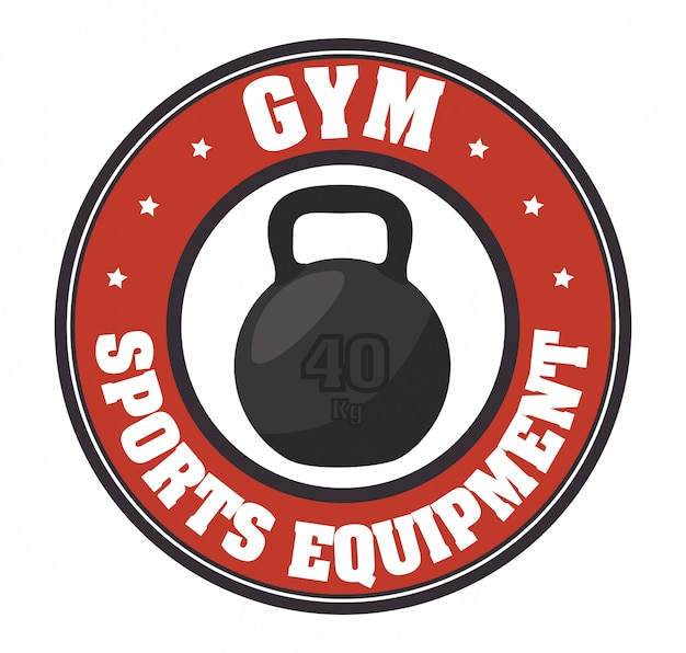 Gym and fitness lifestyle Premium Vector