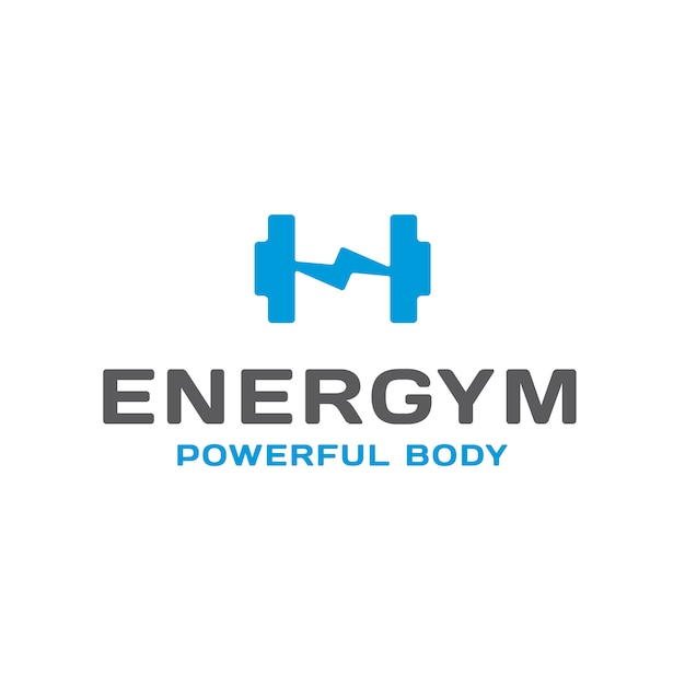 Gym logo design vector premium download for Gym layout design software free