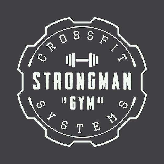 Gym logo Premium Vector