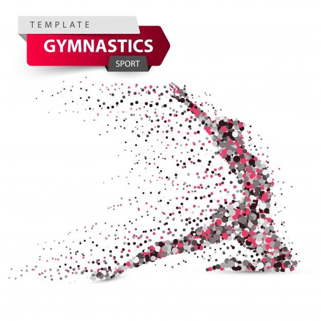 Gymnastics Premium Vector
