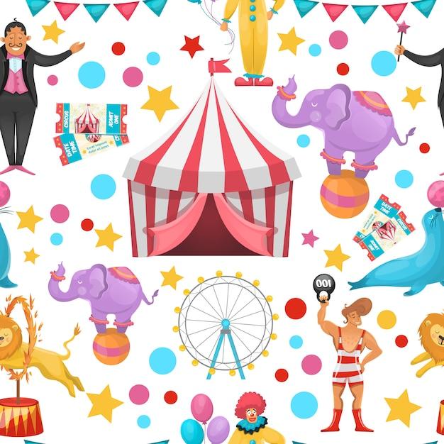 Цыганский цирк Бесплатные векторы