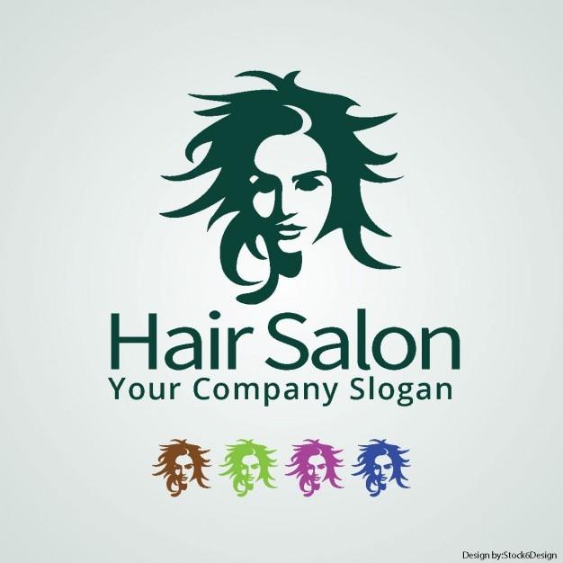 hair salon logo vector free download