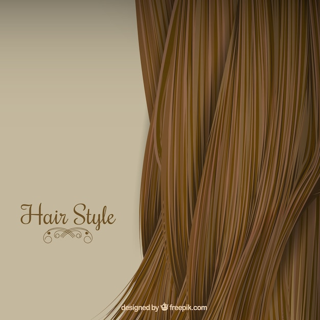 Hair Style Background Vector Premium Download