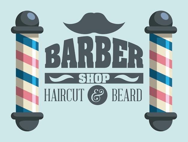 Hairdressing Premium Vector