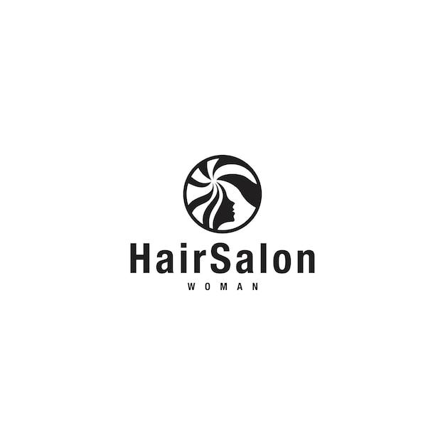 Логотип hairsalon Premium векторы