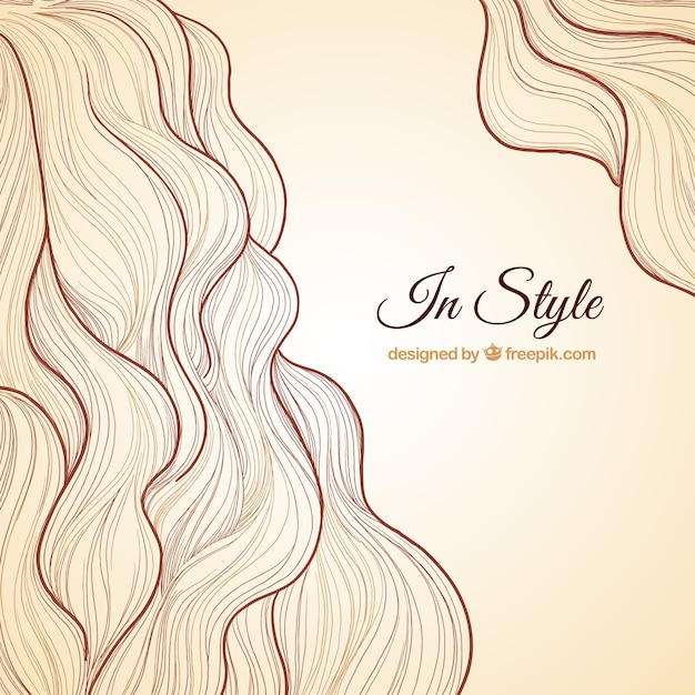 Hairstyle Background Vector Free Download
