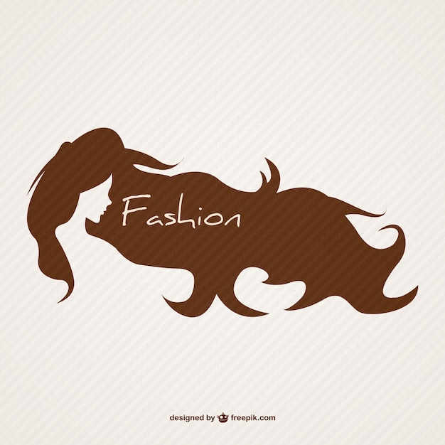 Hairstyle Logo Vector Free Download