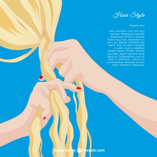 hairstyle template vector premium download