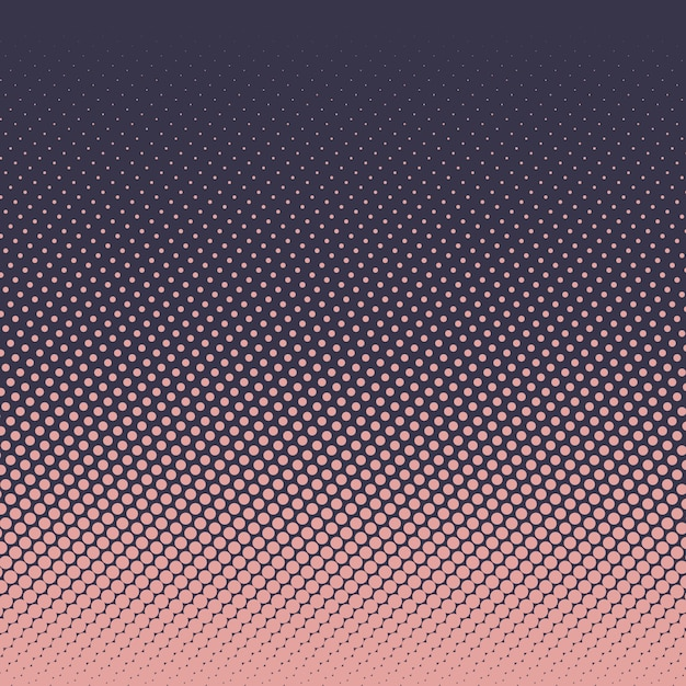 Halftone dots design Free Vector
