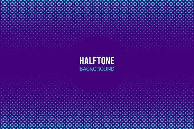 Halftone effect background Free Vector