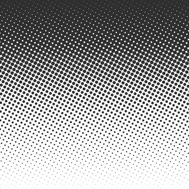 Halftone grunge background. Premium Vector
