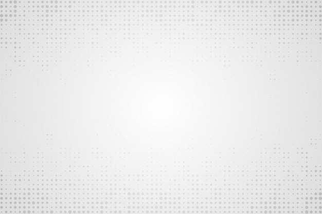 Halftone white background Premium Vector