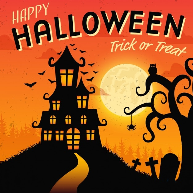 halloween background design free vector - Halloween Design