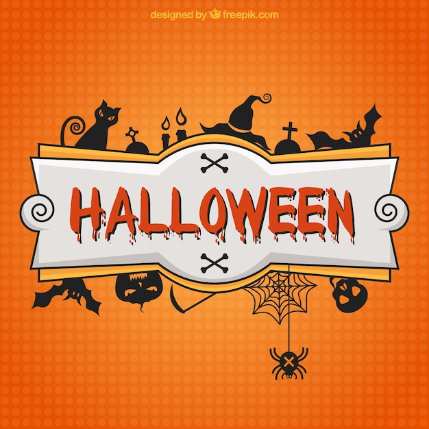 Halloween banner Vector | Free Download