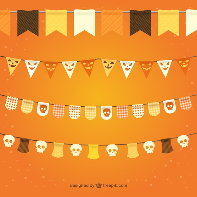Halloween Bunting free diy halloween bunting flag banner printable best friends for frosting Halloween Bunting Pack Free Vector