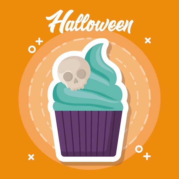 Halloween celebration Free Vector