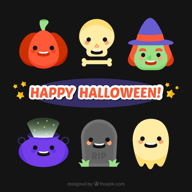 Halloween character characters collection