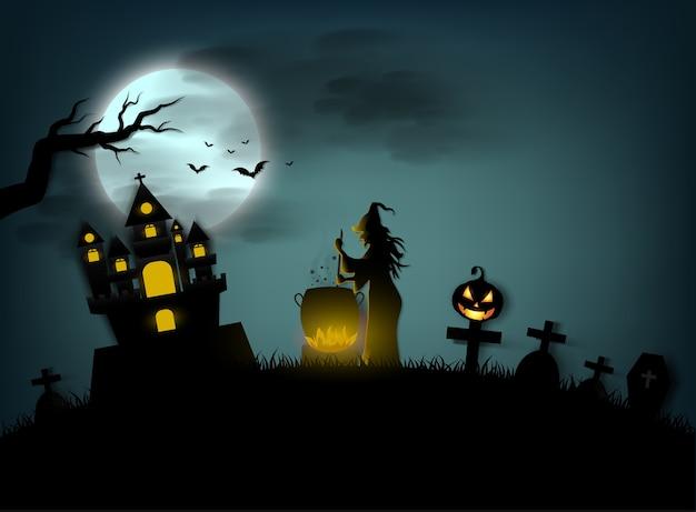 Halloween day Premium Vector
