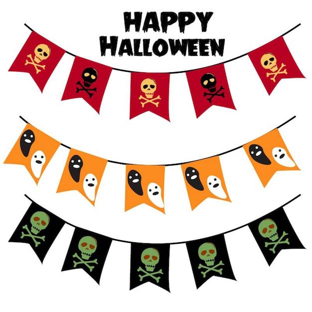 Halloween decoration vector Premium Vector