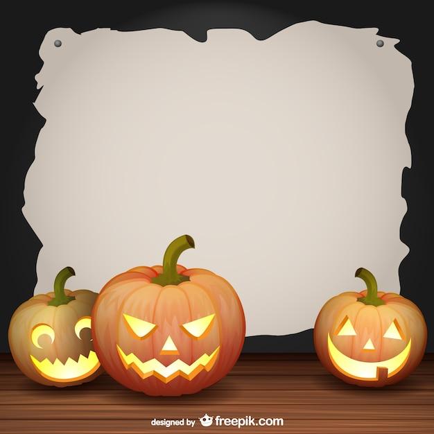 halloween frame vector vector free download