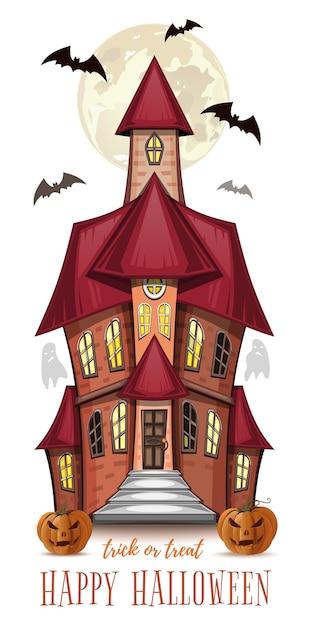 Иллюстрация хэллоуина Premium векторы