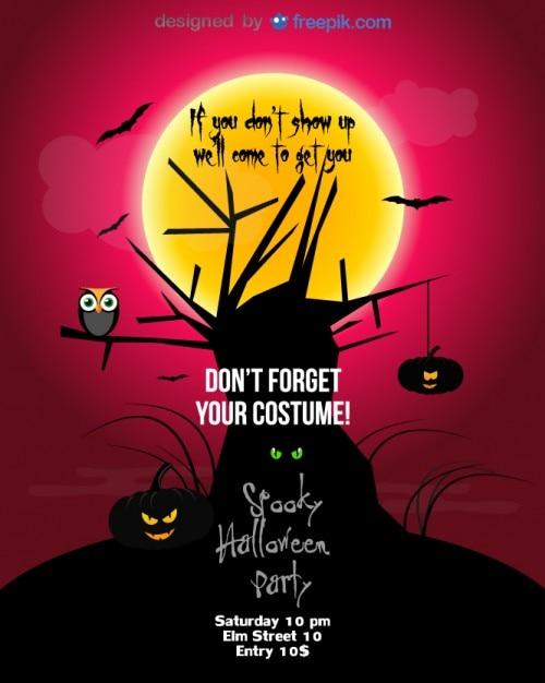Halloween Party Flyer Special Template