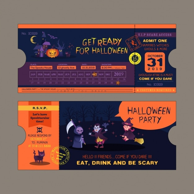 Ticket Vectors Photos and PSD files – Party Tickets Templates