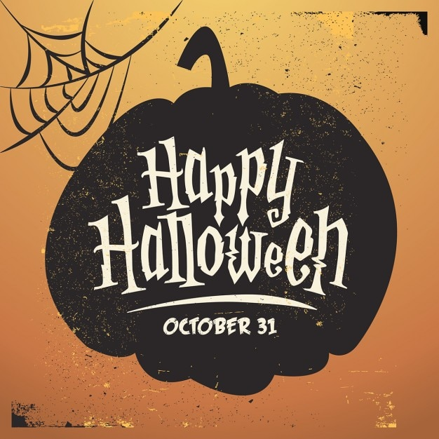 Halloween pumpkin Free Vector