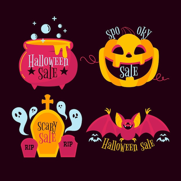 Paper art Halloween sale banner with clouds and leaves - Download Free  Vectors, Clipart Graphics & Vector Art