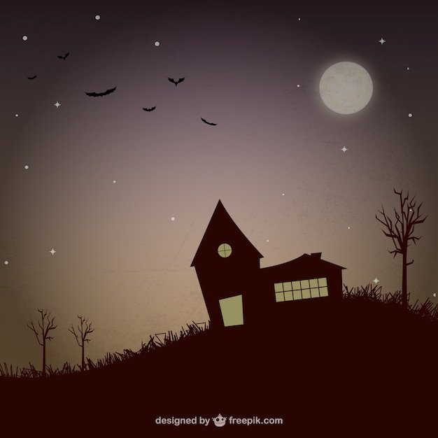 Halloween spooky background