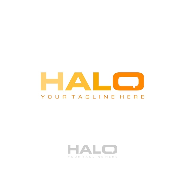 Premium Vector Halo Logo This is a file from the file:halo logo.svg is a vector version of this file. https www freepik com profile preagreement getstarted 2534314