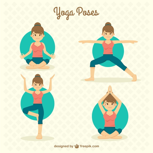 Yoga Vectors, Photos and PSD files | Free Download