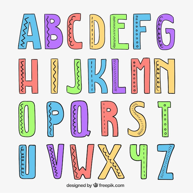 Abc Small Letters Writing