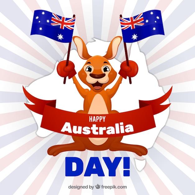 бывшая открытка день австралии так
