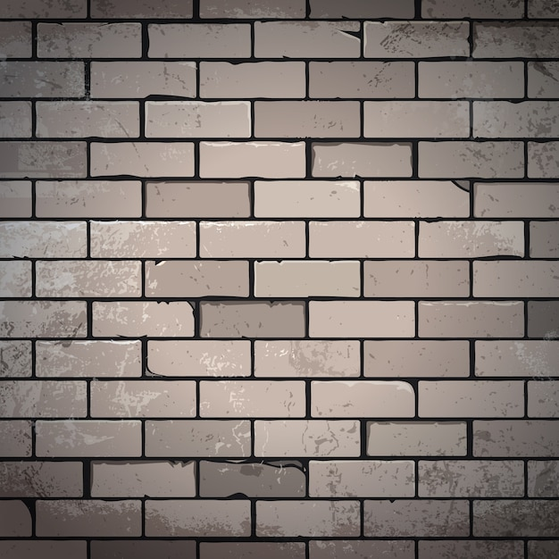 Hand drawn bricks background