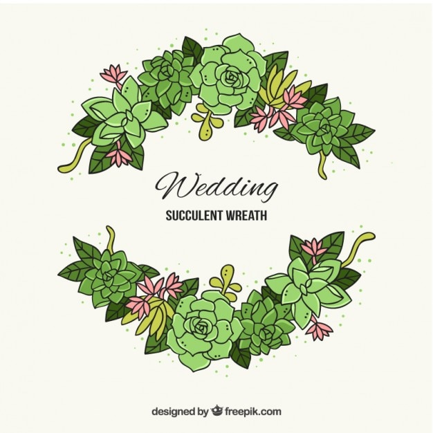 Hand drawn cactus with leaves for wedding decoration vector free hand drawn cactus with leaves for wedding decoration free vector junglespirit Choice Image