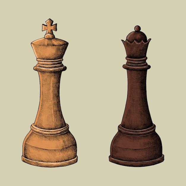 картинки шахматные фигуры ферзь и король сказать, что был