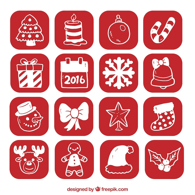 free download vector christmas icon