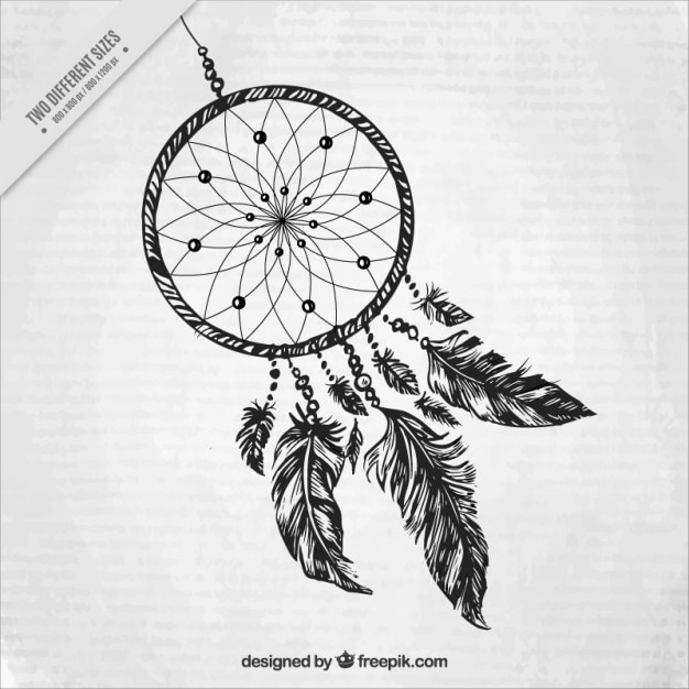 Dreamcatcher Vectors Photos And PSD Files Free Download Gorgeous Pictures Of Dream Catchers To Draw
