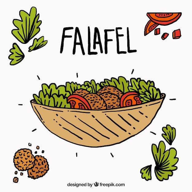Falafel Vectors, Photos and PSD files   Free Download Falafel Clipart