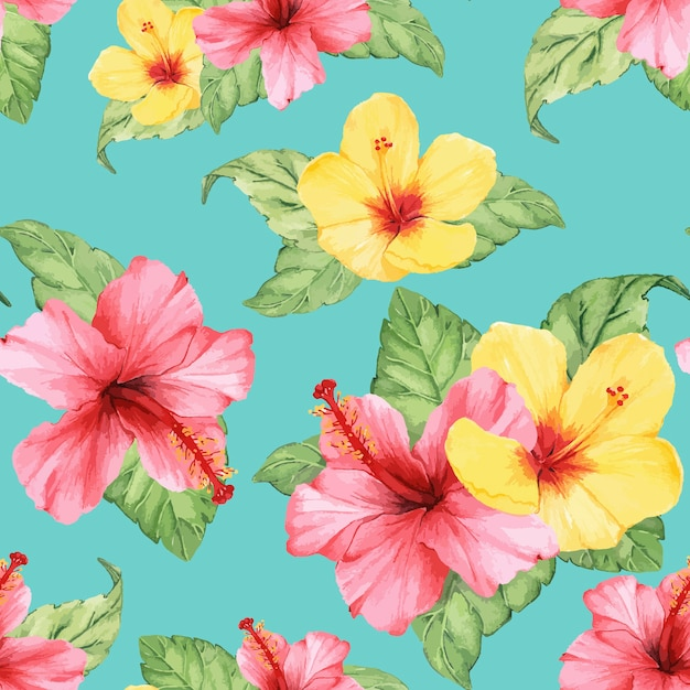 Hand drawn flower vector isolated Free Vector